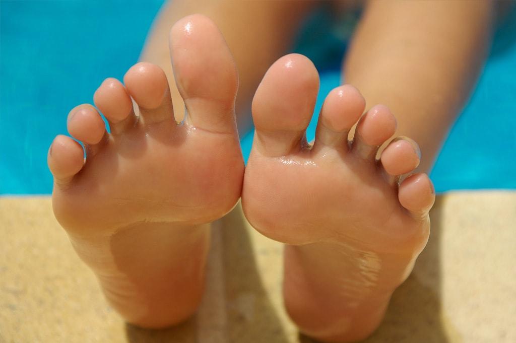 Hautfreundliche Fußpflege